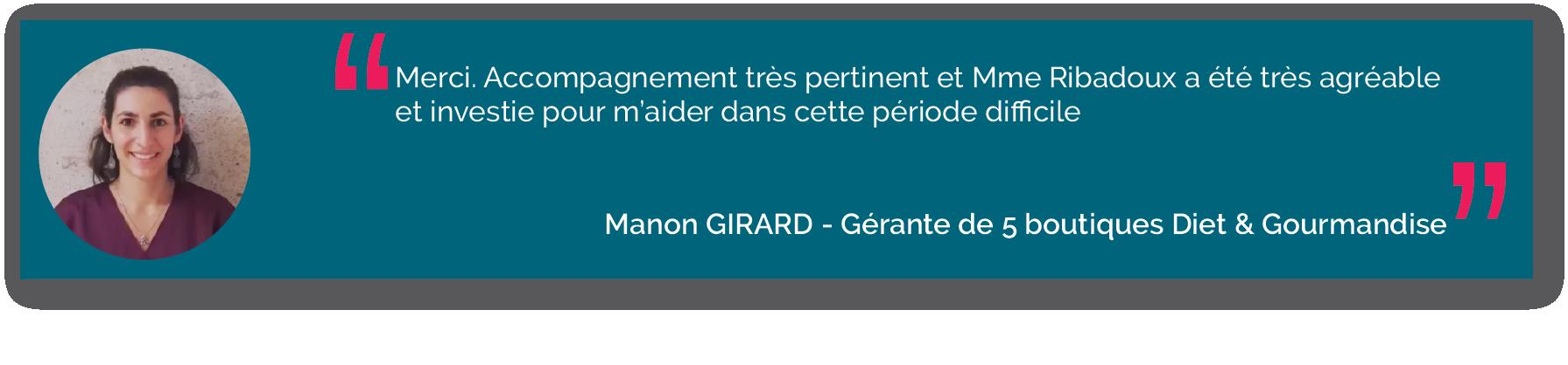 Manon Girard Diet&gourmandises